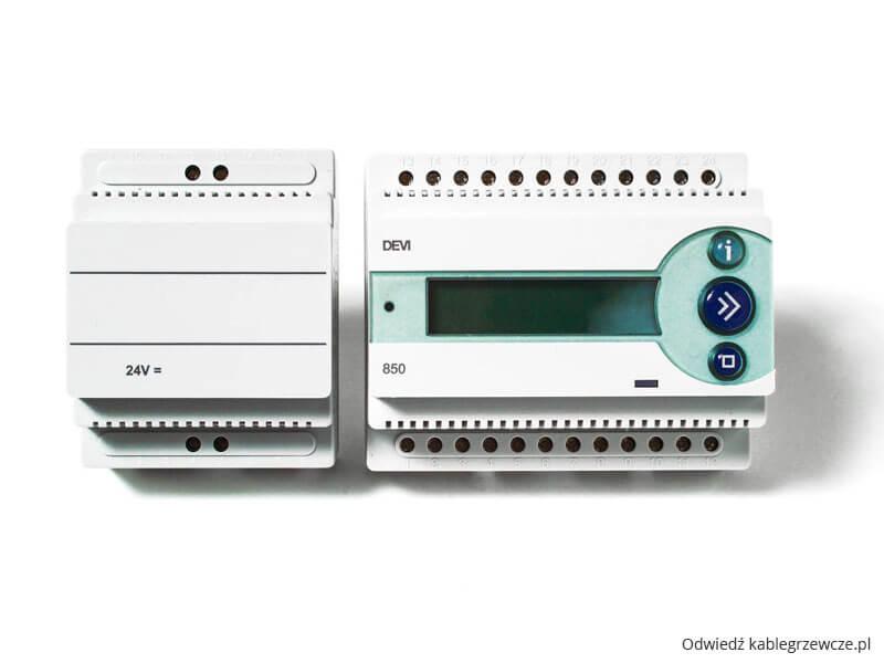 Devireg 850 III z zasilaczem 24 V- termoregulator firmy DEVI