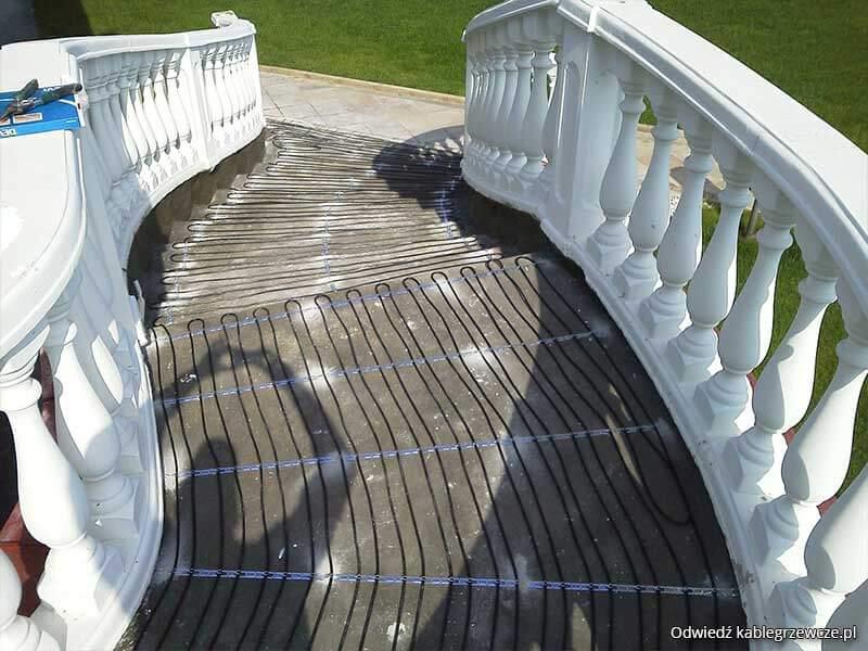 Ogrzewanie schodów - Instalacje przeciwoblodzeniowe