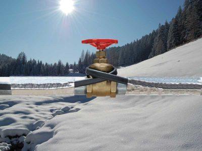 ogrzewanie wodociągów