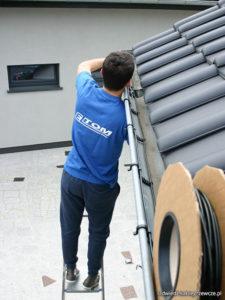 ogrzewanie rynien i dachów