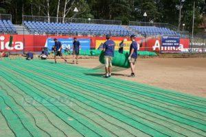 ogrzewanie boiska sportowego