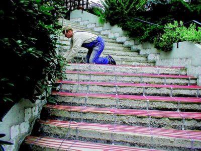 ogrzewanie schodów elektrycznie